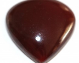 Fine Natural Red Onyx Cabochon  (OX-38