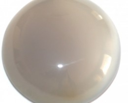 Fine Natural Blue Onyx Cabochon  (OX-50