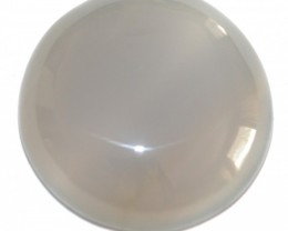 Fine Natural Blue Onyx Cabochon  (OX-48