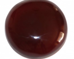 Fine Natural Red Onyx Cabochon  (OX-33