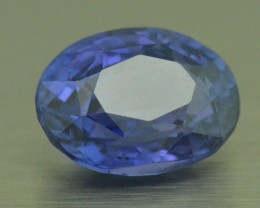 4.06ct Sapphire unheated oval blue Purple color Change AAA