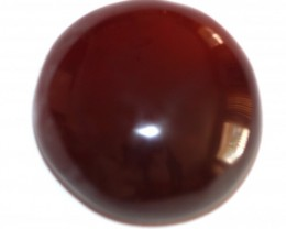 Fine Natural Red Onyx Cabochon  (OX-32