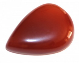 Fine Natural Red Onyx Cabochon  (OX-47