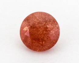 2.1ct Peach Round Sunstone (S922)