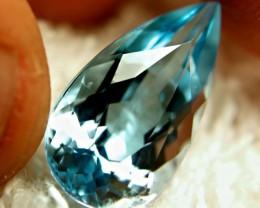 11.46 Carat Blue Brazil VVS Topaz - Beautiful