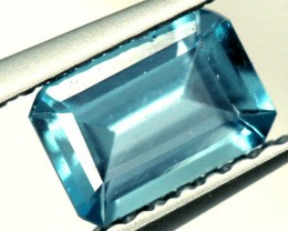 BLUE TOPAZ NATURAL FACETED STONE 0.65 CTS PG-887