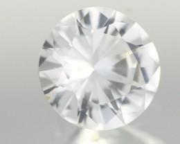0.86CTS DIAMOND CUT SILVERY WHITE SAPPHIRE (ST9201)