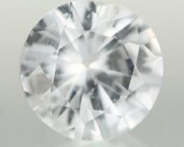 0.97CTS DIAMOND CUT SILVERY WHITE SAPPHIRE (ST9203)