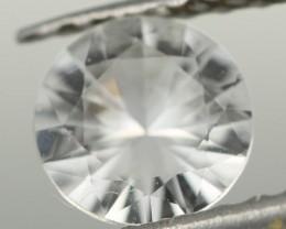 0.77CTS DIAMOND CUT SILVERY WHITE SAPPHIRE (ST9209)