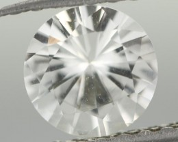 1.09CTS DIAMOND CUT SILVERY WHITE SAPPHIRE (ST9210)