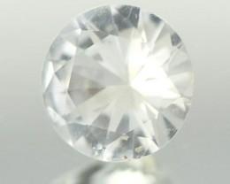 0.71CTS DIAMOND CUT SILVERY WHITE SAPPHIRE (ST9213)