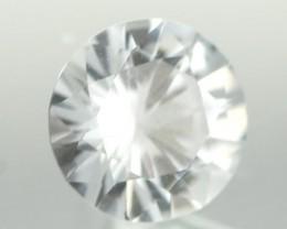 0.87CTS DIAMOND CUT SILVERY WHITE SAPPHIRE (ST9216)