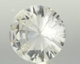 0.71CTS DIAMOND CUT SILVERY WHITE SAPPHIRE (ST9217)