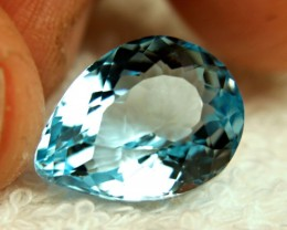 20.75 Carat Blue Brazil VVS Topaz - Gorgeous