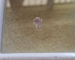 NATURAL-ARGYLE--PINKDIAMOND,0.20CTWSIZE,3.8MM,1PCS