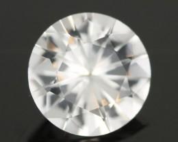 1.06CTS DIAMOND CUT SILVERY WHITE SAPPHIRE (SAP317)