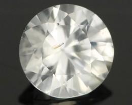 0.88CTS DIAMOND CUT SILVERY WHITE SAPPHIRE (SAP319)