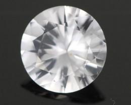 0.85CTS DIAMOND CUT SILVERY WHITE SAPPHIRE (SAP320)