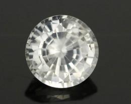 1.22CTS DIAMOND CUT SILVERY WHITE SAPPHIRE (SAP321)
