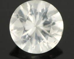 0.82CTS DIAMOND CUT SILVERY WHITE SAPPHIRE (SAP322)