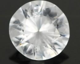 .96CTS DIAMOND CUT SILVERY WHITE SAPPHIRE (SAP323)