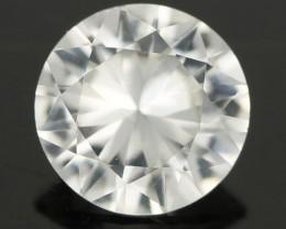 0.88CTS DIAMOND CUT SILVERY WHITE SAPPHIRE (SAP326)