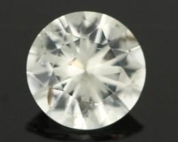 0.93CTS DIAMOND CUT SILVERY WHITE SAPPHIRE (SAP327)