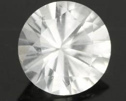 0.93CTS DIAMOND CUT SILVERY WHITE SAPPHIRE (SAP328)