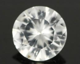 0.97CTS DIAMOND CUT SILVERY WHITE SAPPHIRE (SAP329)