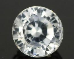 1.29CTS DIAMOND CUT SILVERY WHITE SAPPHIRE (SAP330)