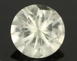 0.85CTS DIAMOND CUT SILVERY WHITE SAPPHIRE (SAP332)