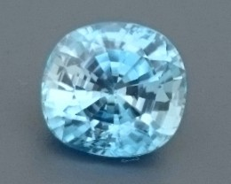 3.02ct Natural Light Blue ZIRCON Gemstone