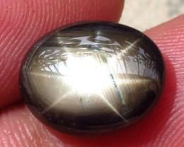 5.78 Carat Thailand Black Star Sapphire