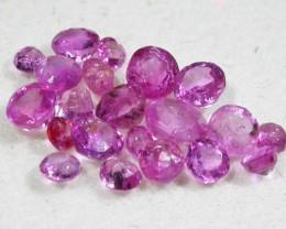 1.5 CTS AUSTRALIAN PINK SAPPHIRE PARCEL [ST9246]5