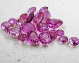 1.5 CTS AUSTRALIAN PINK SAPPHIRE PARCEL [ST9267]