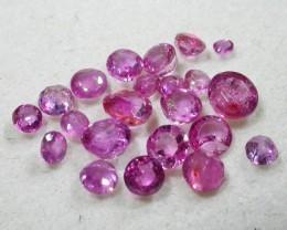 1.5 CTS AUSTRALIAN PINK SAPPHIRE PARCEL [ST9283]