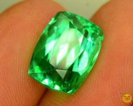 7.625 ct Exotic Green Hiddenite Kunzite ~ Pakistan