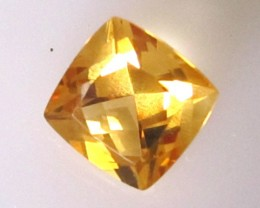 4.35cts Golden Yellow Citrine Cushion Shape