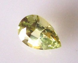 0.80cts Natural Australian Parti Sapphire Pear Cut