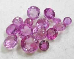 1.5 CTS AUSTRALIAN PINK SAPPHIRE PARCEL [ST9323].8