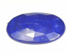 38mm Lapis Lazuli blue oval cabochon SALE