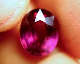6.67 Carat Fiery Purplish Red Ruby - Superb