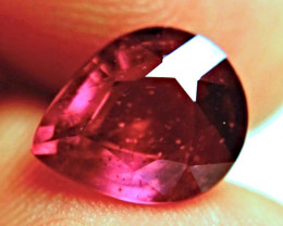 6.62 Carat Fiery Purplish Red Ruby - Beautiful