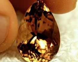 17.40 Carat VVS Golden Brown South American Topaz