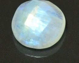 12mm round faceted moonstone rose cut