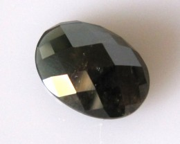 7.53cts Natural Australian Sapphire Oval Checker Board Cut