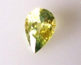 1.11cts Natural Australian Parti Sapphire Pear Cut