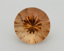 3.4ct Round Peach Sunstone (S2343)