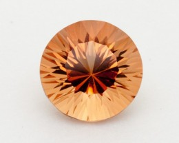 4.3ct Round Peach Sunstone (S2344)