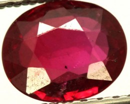 RED RUBY CERTIFIED UNHHEATED  1.01 CTS-GB11030803